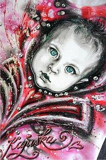 Tielka - maľované zlatíčko :) - 6627628_