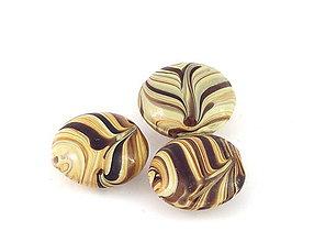 Korálky - Vinutka Wooden candy pils - 6628702_