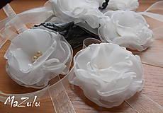 svadobné náramky v ivory odtieni