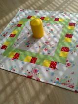 Úžitkový textil - Obrus s vôňou jari... - 6629134_