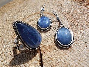 Sady šperkov - Kyanitová súprava - 6627906_