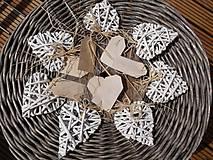 Dekorácie - Srdiečka nielen na Valentína - 6629069_