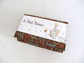 Peňaženky - Malý princ - 14 cm, na spoustu karet - 6628391_
