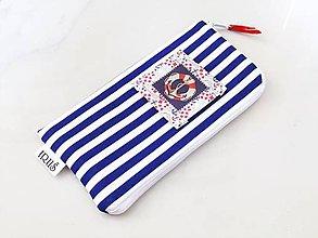 Na mobil - Námořnické - stylové pouzdro na telefon - 6628432_