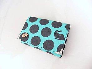 Peňaženky - Dva kamarádi králíčci - malá na více karet - 6628463_