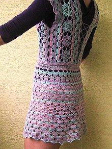 Šaty - hačkované šatky - 6630962_