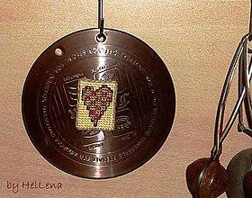 Magnetky - Magnetka  - srdce veľké - 6629617_