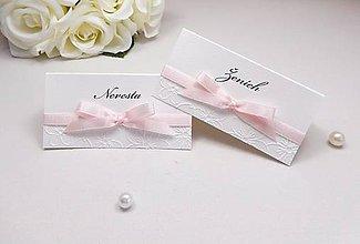 Papiernictvo - Svadobné menovky Blossom love - 6632730_