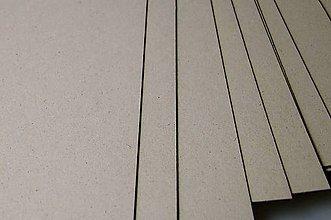 Iný materiál - Knihárska lepenka 3mm 20x20 cm - 6630592_