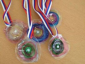 Drobnosti - Medaila, medaila pre deti, motivacia pre deti, za odmenu - 6632172_