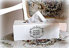 Krabičky - Na servítky Sweet Home - 6632894_