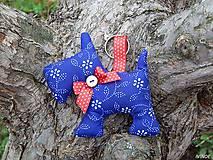 Prívesok - modrý psík