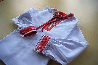 Detské oblečenie - Chlapčenská košieľka - 6630185_