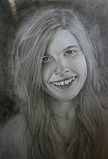 Kresby - Portrét na želanie - sestra - 6629985_