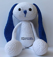 Hračky - zajko modré Uško - 6633910_