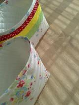 Košíky - Textilný košík..pestrý - 6636697_