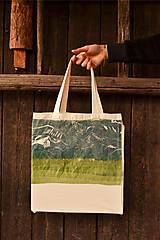 Nákupné tašky - SALE- Bavlnená Taška Les - 6633722_