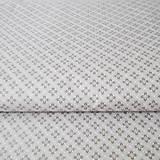 - sivé kvietky; 100 % bavlna, šírka 140 cm, cena za 0,5 m - 6636318_