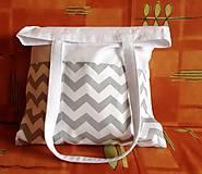 taška s vreckami
