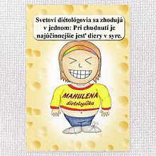"""Papiernictvo - Zápisník jedál s vtipným citátom ,,Diery v syre"""" (12) - 6633310_"""