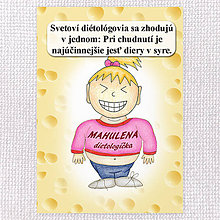 """Papiernictvo - Zápisník jedál s vtipným citátom ,,Diery v syre"""" (14) - 6633312_"""