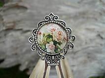 - Záložka do knihy Růže Romantická - 6638606_