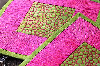 Úžitkový textil - Prostírání růžovozelené - 6639737_