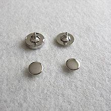 Galantéria - Magnetické zapínanie 18 mm Ni s 2 nitmi - 6638451_