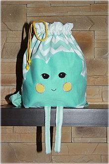 Detské tašky - ruksačik mráčik, - 6640915_