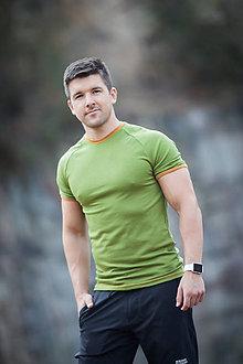 Oblečenie - Pánské 100% LETNÍ MERINO triko Rio Grande - 6637769_