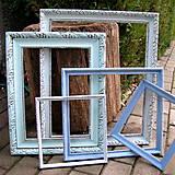 Rámiky - Sada starožitných vintage rámov II. - predaná - 6637524_