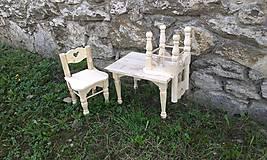 Detské doplnky - Stôl + 2 detské stoličky - 6638342_