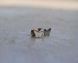Detské doplnky - Motýliky zlaté - 6643970_