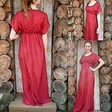 Šaty - Retro-empírové šaty - 6644372_