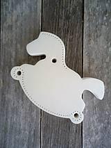 Dekorácie - Koník biely - 6645640_