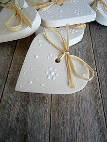Darčeky pre svadobčanov - Srdiečko svadobné - Flower shower - 6645786_