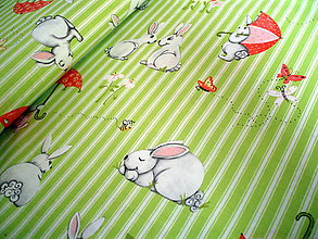 Textil - Bunny and Friends 1 - 6644071_