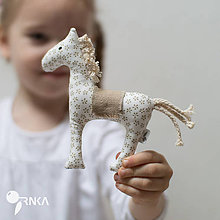 Hračky - malý koník - 6641935_