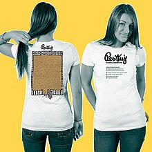 Tričká - Návrat: Interaktívne tričko pre rodičov Pestuj - 6642392_