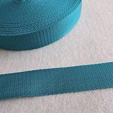 Galantéria - Popruh POP 30 mm petrolejový-zelený - 6642402_