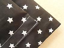 Textil - BLACK and WHITE 2-dielny set obliečky do postieľky De LUXE - 6641452_