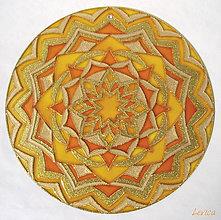 Dekorácie - Mandala Povzbudenia - 6644145_
