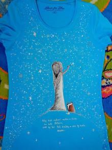 Tričká - maľované tričko - 6642594_
