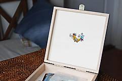Krabičky - Ručne maľovaná šperkovnica Martinka - 6645016_