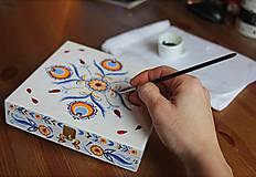 Krabičky - Ručne maľovaná šperkovnica Martinka - 6645019_