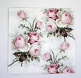 - Servítka V3-  Love Rose - 6641765_
