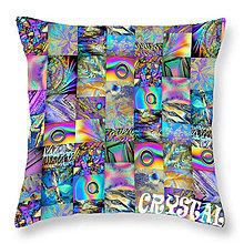 Úžitkový textil - Vankúš mozaika Crystal - 6644884_