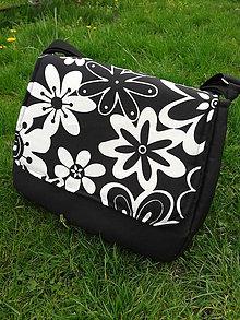 Veľké tašky - Priestranná taška na kočík - 6644087_