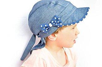 Detské čiapky - Letná pirátka  rifle& dots - 6645067_