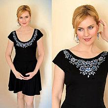Šaty - MAĽBA na čierne šaty... - 6643561_